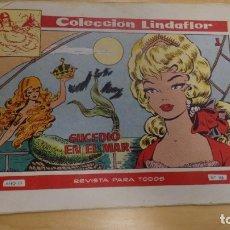Tebeos: COLECCION LINDAFLOR . SUCEDIO EN EL MAR . Nº 146 AÑO III. Lote 173060669