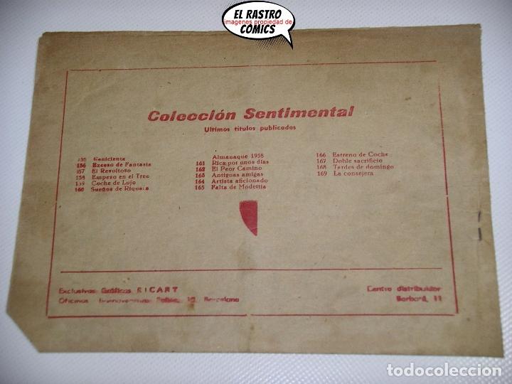 Tebeos: Sentimental nº 169, La consejera, ed. Ricart, tebeo de chicas, romántico - Foto 2 - 173158089