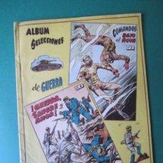 Tebeos: SELECCIONES DE GUERRA (1954, RICART) -ALBUM- 3 · 1954 · ALBUM SELECCIONES DE GUERRA. Lote 173296654