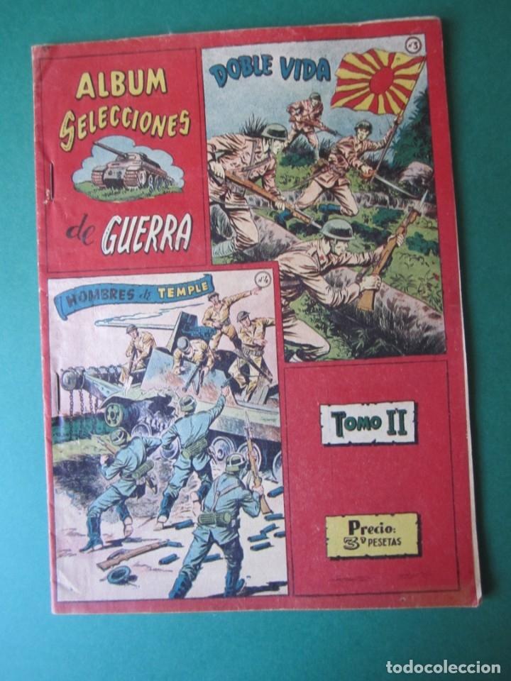 SELECCIONES DE GUERRA (1954, RICART) -ALBUM- 2 · 1954 · TOMO II (Tebeos y Comics - Ricart - Otros)