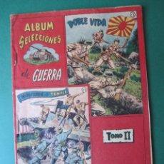 Tebeos: SELECCIONES DE GUERRA (1954, RICART) -ALBUM- 2 · 1954 · TOMO II. Lote 173297848