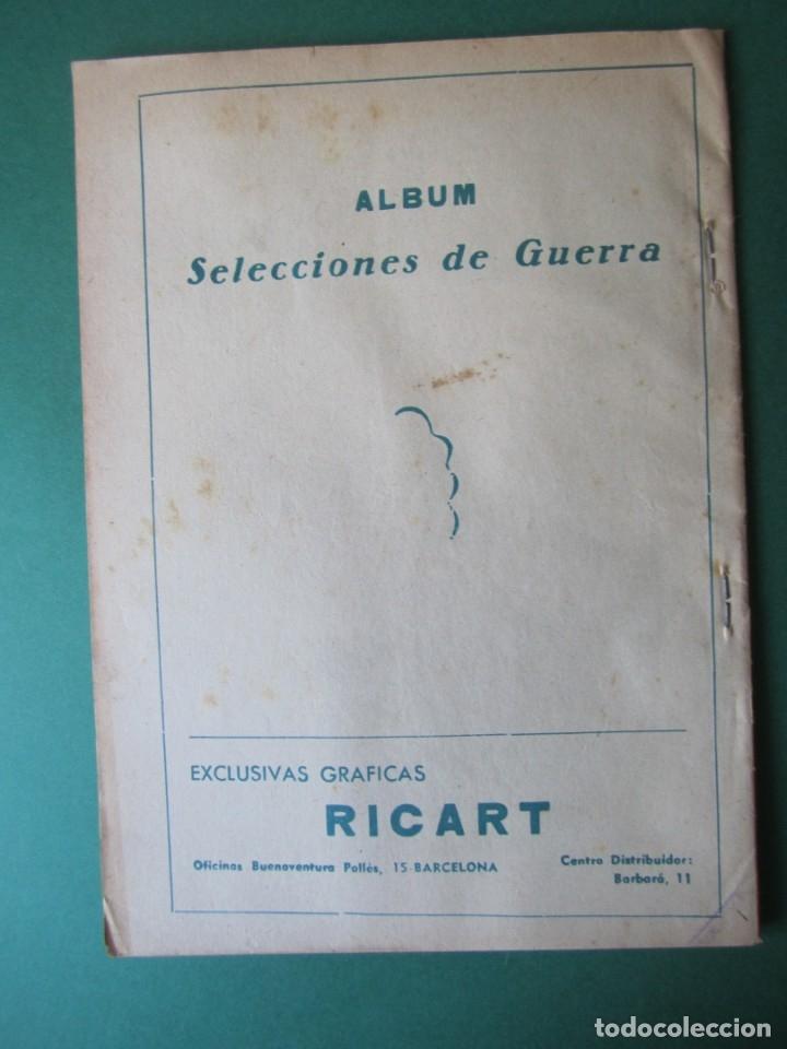 Tebeos: SELECCIONES DE GUERRA (1954, RICART) -ALBUM- 2 · 1954 · TOMO II - Foto 2 - 173297848