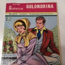 Tebeos: A3. 7. EXTRA CUENTOS GOLONDRINA. REVISTA JUVENIL FEMENINA. N. 165. Lote 173600084