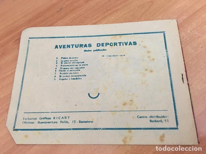 Tebeos: AVENTURAS DEPORTIVAS Nº 10 (ORIGINAL RICART) PRIMERA EDICION 1 PTA (COIB25) - Foto 2 - 173817983