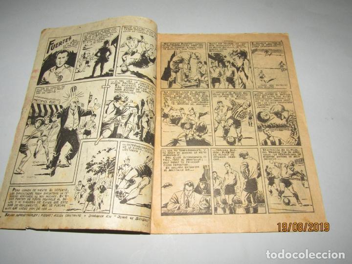 Tebeos: Antiguo TBO Colección ASES DEL DEPORTE con FUERTES Graficas RICART Jugador del Valencia - Foto 3 - 174212097