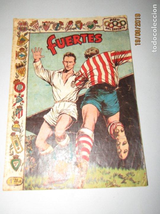 Tebeos: Antiguo TBO Colección ASES DEL DEPORTE con FUERTES Graficas RICART Jugador del Valencia - Foto 4 - 174212097