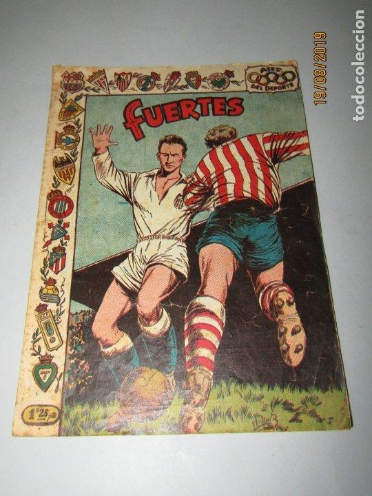 Tebeos: Antiguo TBO Colección ASES DEL DEPORTE con FUERTES Graficas RICART Jugador del Valencia - Foto 6 - 174212097