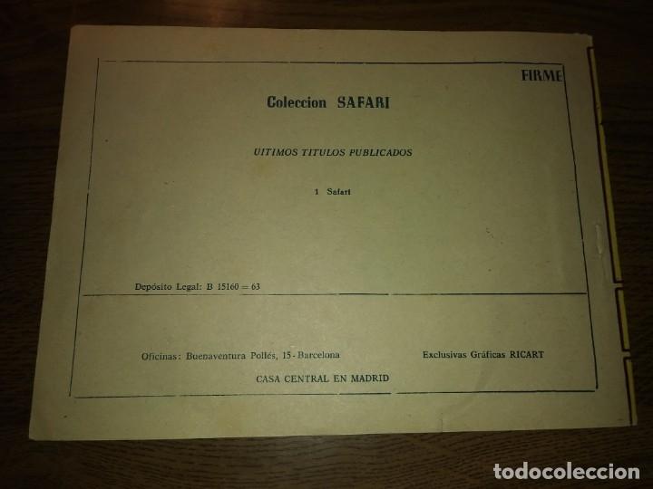Tebeos: SAFARI REVISTA PARA LOS JÓVENES. Nºs del 1 AL 16. COMPLETA. EDICIONES RICART. - Foto 4 - 175518808