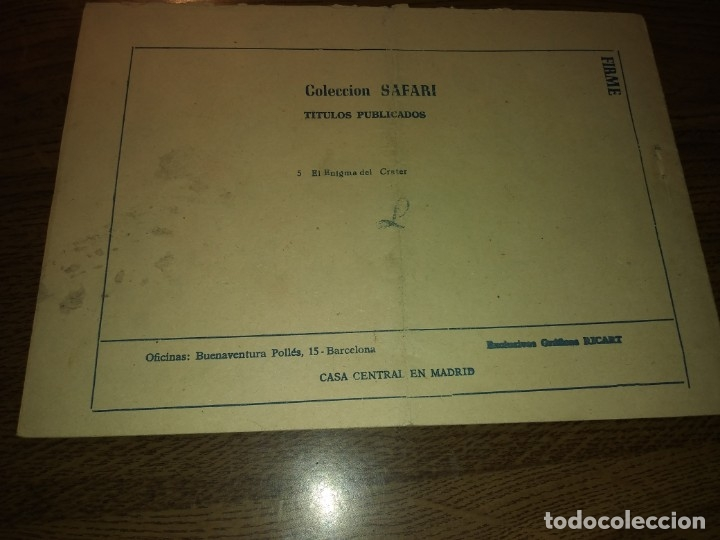 Tebeos: SAFARI REVISTA PARA LOS JÓVENES. Nºs del 1 AL 16. COMPLETA. EDICIONES RICART. - Foto 17 - 175518808