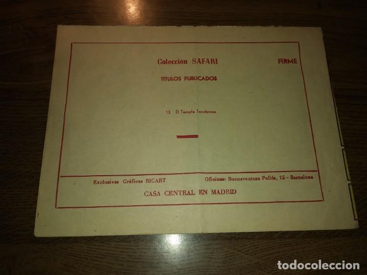 Tebeos: SAFARI REVISTA PARA LOS JÓVENES. Nºs del 1 AL 16. COMPLETA. EDICIONES RICART. - Foto 41 - 175518808
