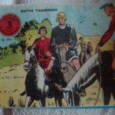 Tebeos: FLECHA Y ARTURO ENTRE TRAIDORES NÚMERO 19. Lote 175800643
