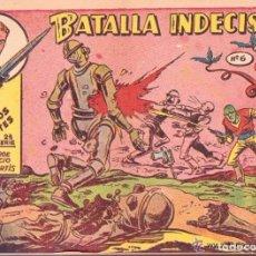 Tebeos: TEBEO BATALLA INDECISA PLATILLOS VOLANTES. Lote 177527917