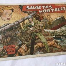Tebeos: SILUETAS MORTALES - (EPISODIOS COREA) - NUM.48. Lote 177729205
