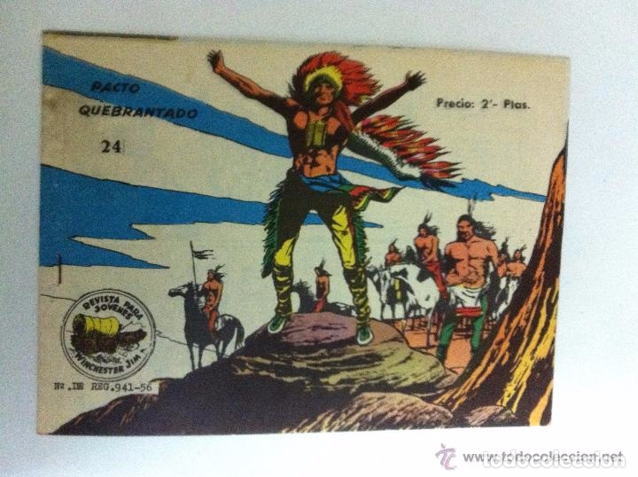WINCHESTER JIM -Nº. 24 (Tebeos y Comics - Ricart - Otros)