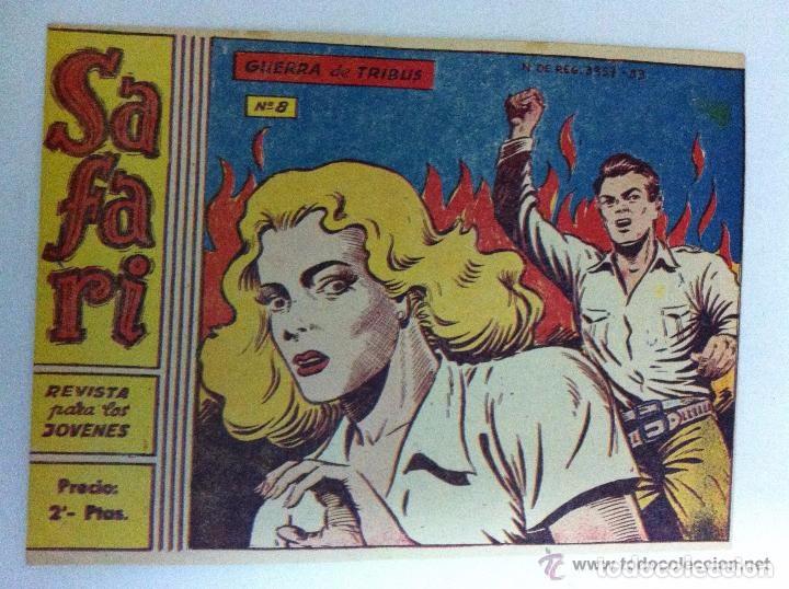 SAFARI - Nº.8 (Tebeos y Comics - Ricart - Safari)