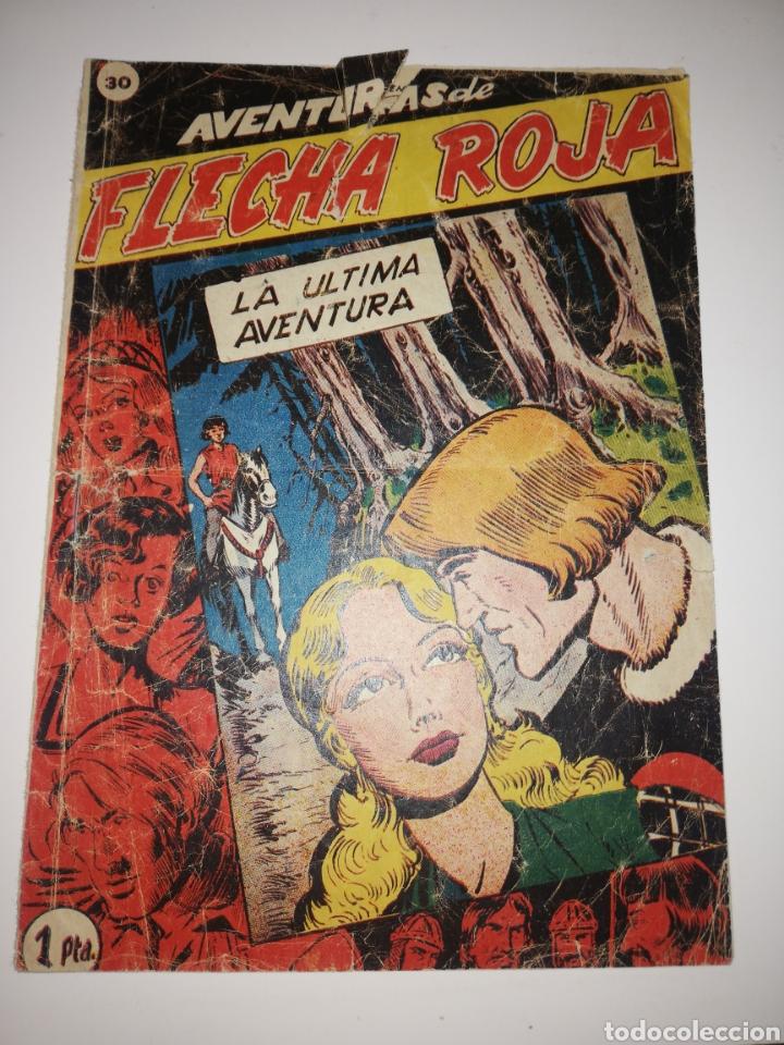 FLECHA ROJA COMIC N 30 (Tebeos y Comics - Ricart - Flecha y Arturo)