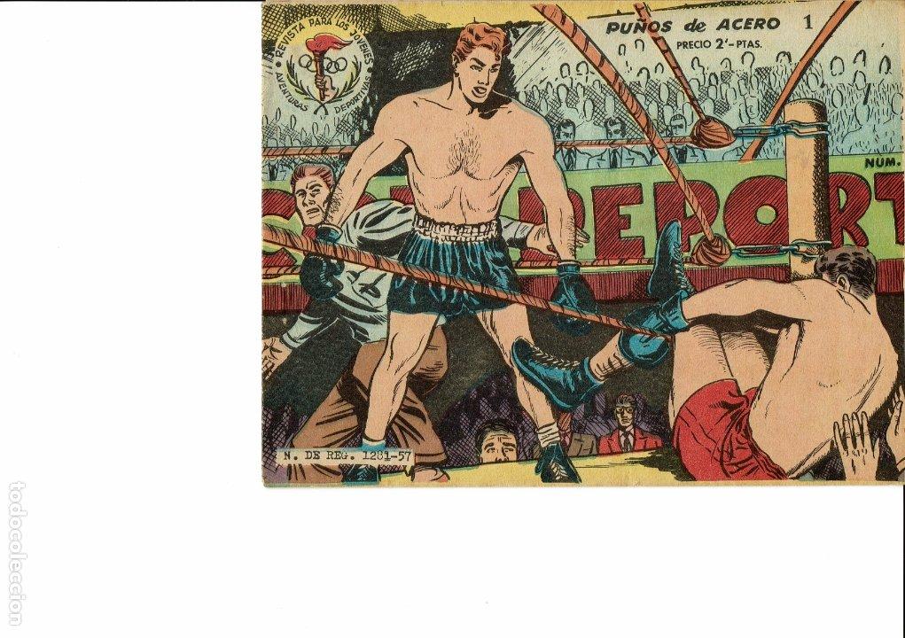 AVENTURAS DEPORTIVAS Nº 1-2-3-4-5-6-8--17 (Tebeos y Comics - Ricart - Aventuras Deportivas)