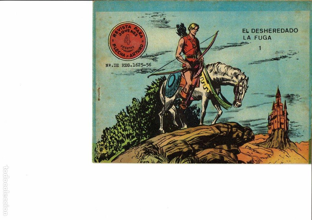FLECHA Y ARTURO Nº 1-2-3-5 (Tebeos y Comics - Ricart - Aventuras Deportivas)