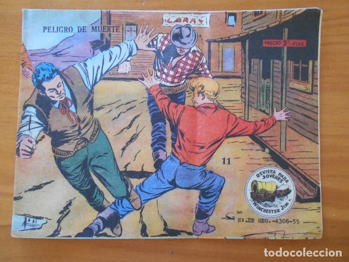 WINCHESTER JIM Nº 11 - PELIGRO DE MUERTE (H2) (Tebeos y Comics - Ricart - Otros)