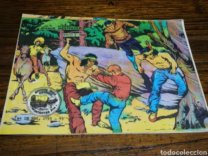 WINCHESTER JIM- ATAQUE INESPERADO, N°4.EDITORIAL RICART. (Tebeos y Comics - Ricart - Otros)
