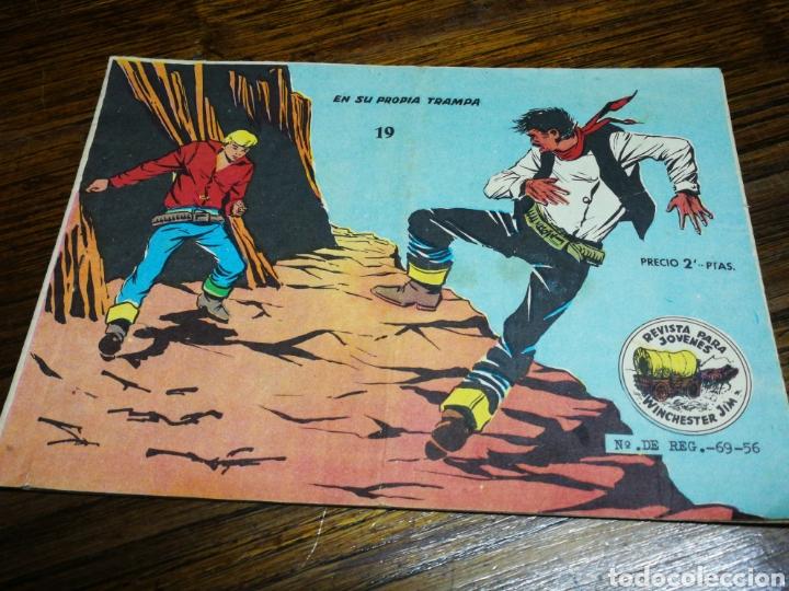WINCHESTER JIM- EN SU PROPIA TRAMPA, N°19.EDITORIAL RICART. (Tebeos y Comics - Ricart - Otros)