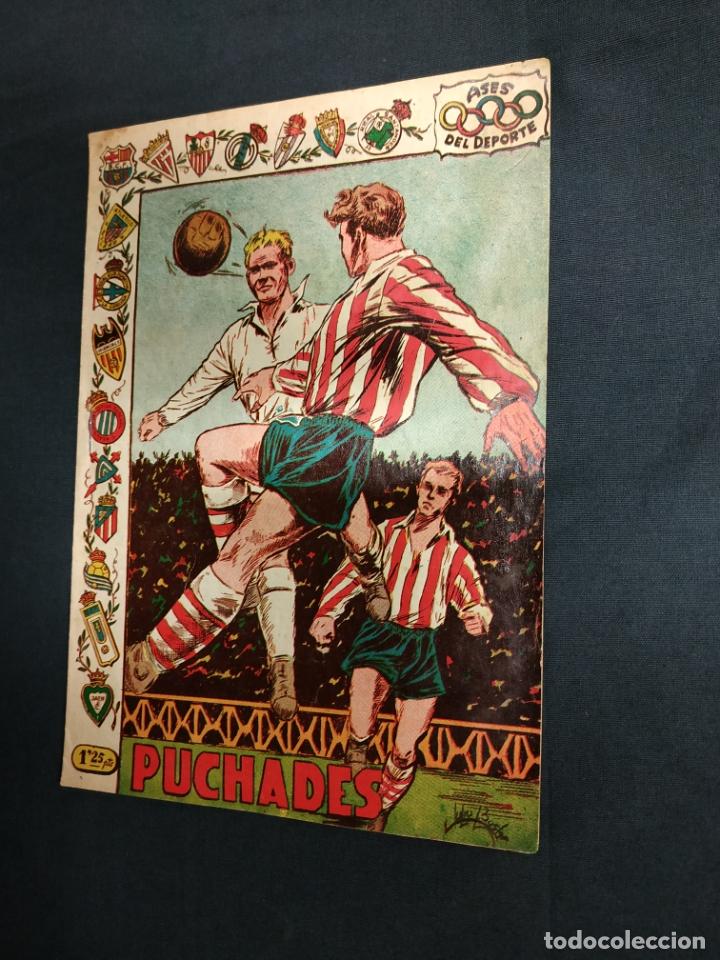 ASES DEL DEPORTE - Nº 19 - PUCHADES - GRAFICAS RICART - (Tebeos y Comics - Ricart - Otros)
