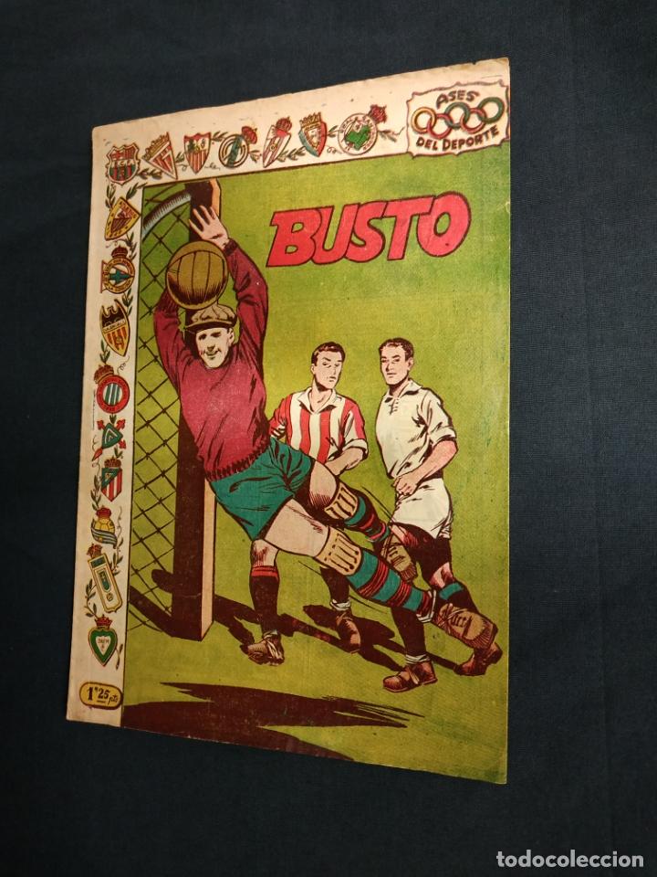 ASES DEL DEPORTE - Nº 17 - BUSTO - GRAFICAS RICART - (Tebeos y Comics - Ricart - Otros)