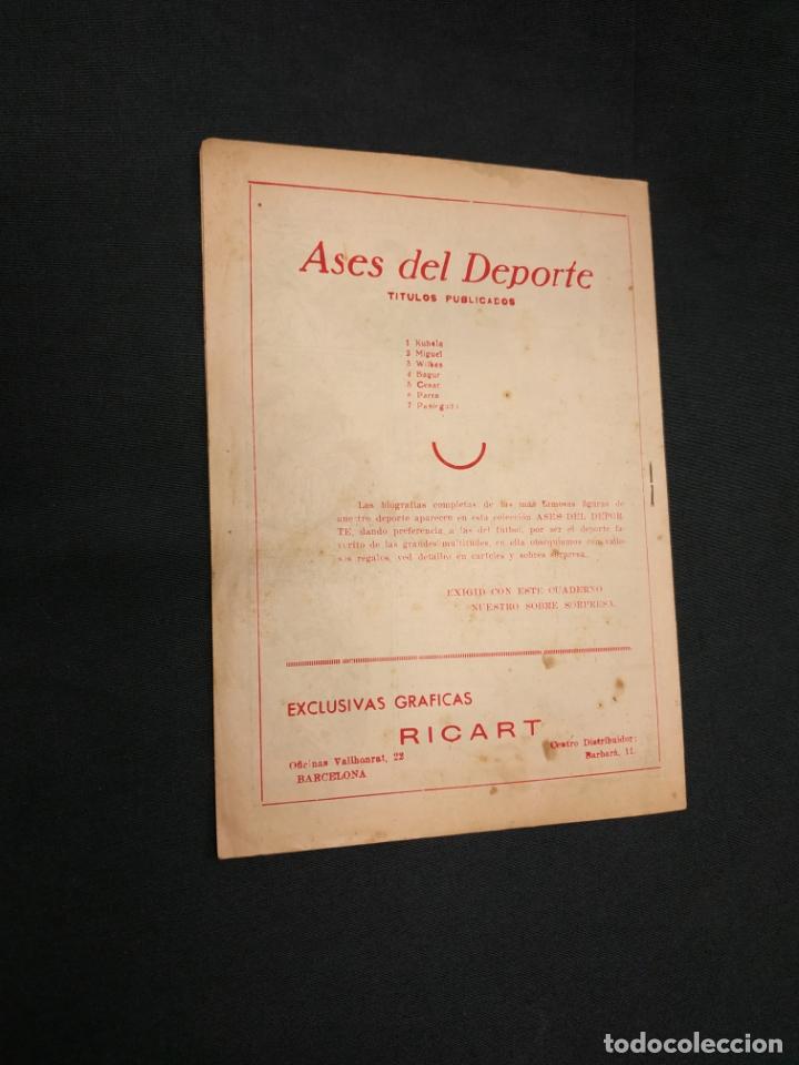Tebeos: ASES DEL DEPORTE - Nº 7 - PASIEGUITO - GRAFICAS RICART - - Foto 7 - 181556375