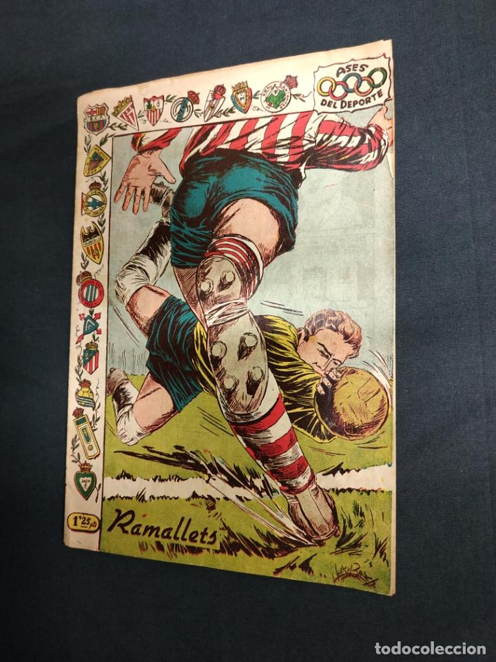 ASES DEL DEPORTE - Nº 22 - RAMALLETS - GRAFICAS RICART - (Tebeos y Comics - Ricart - Otros)