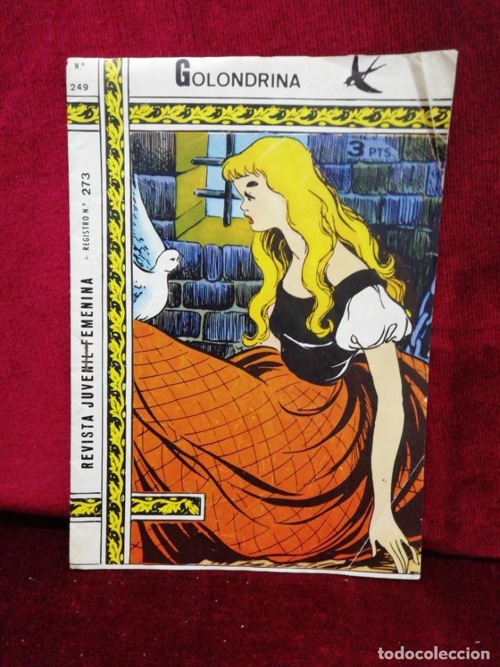 REVISTA JUVENIL FEMENINA. N° 249. EL MENSAJE. (Tebeos y Comics - Ricart - Golondrina)