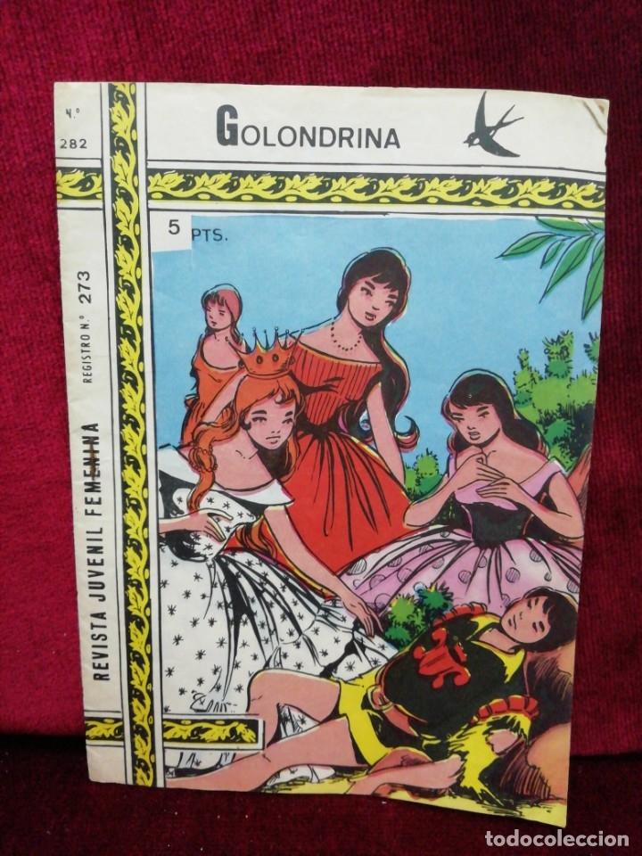 REVISTA JUVENIL FEMENINA. N° 282. EL PAJE. (Tebeos y Comics - Ricart - Golondrina)