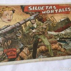 Tebeos: SILUETAS MORTALES - (EPISODIOS COREA) - NUM.48. Lote 182089912