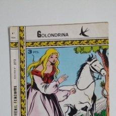 Tebeos: GOLONDRINA Nº 164. REVISTA JUVENIL FEMENINA. TDKC45. Lote 182616238