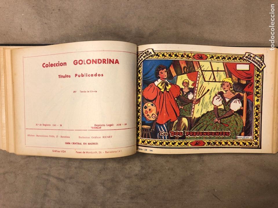 Tebeos: LOTE DE 30 NÚMEROS COLECCIÓN GOLONDRINA Y 22 ARDILLITA ENCUADERNADOS. GRÁFICAS RICART - Foto 29 - 182779622