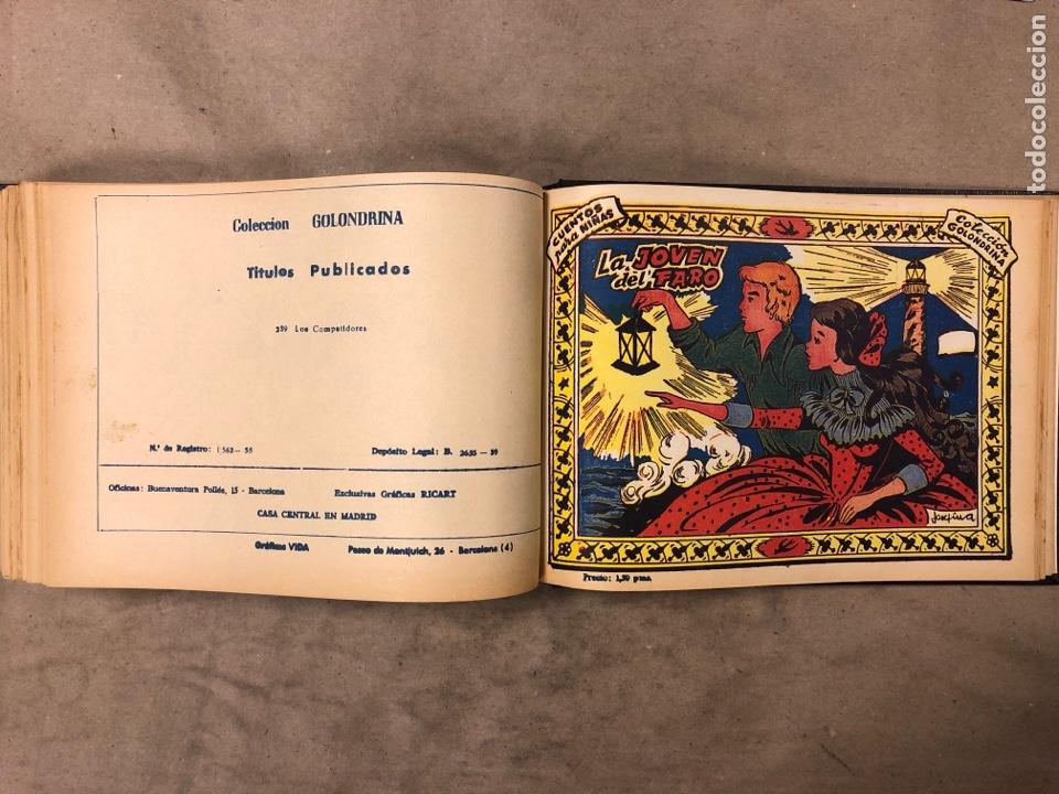 Tebeos: LOTE DE 30 NÚMEROS COLECCIÓN GOLONDRINA Y 22 ARDILLITA ENCUADERNADOS. GRÁFICAS RICART - Foto 49 - 182779622