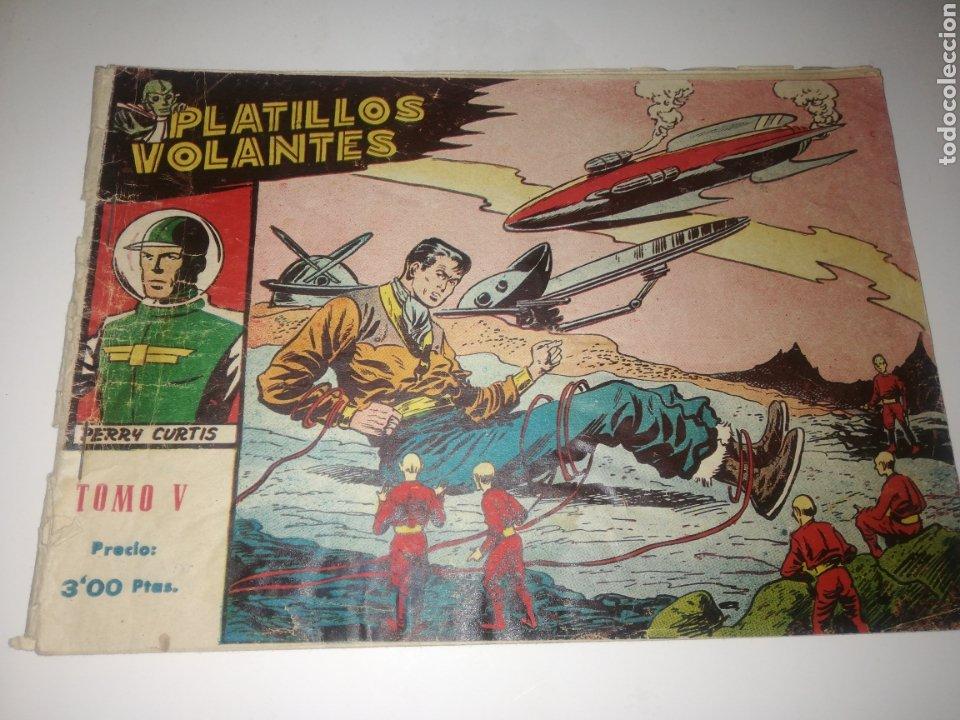 PLATILLOS VOLANTES TOMO V ORIGINAL (Tebeos y Comics - Ricart - Otros)
