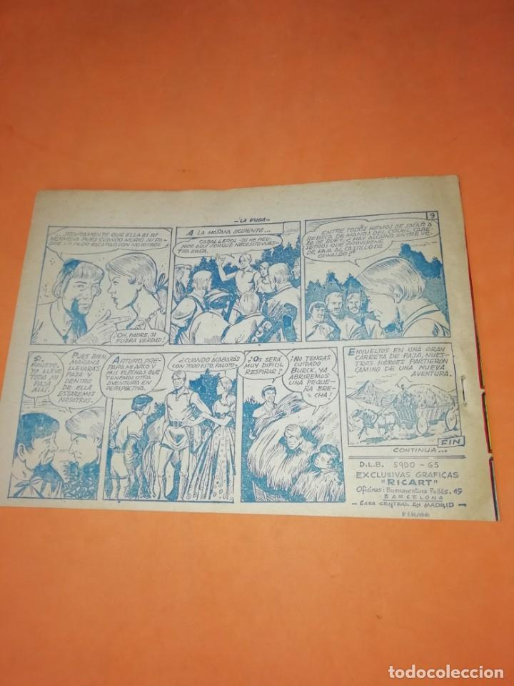 Tebeos: FLECHA Y ARTURO. Nº 2 LA FUGA. RICART. 1965. AVENTURAS DEL FBI. TERROR EN HOLLYWOOD. EDICOLOR 1958 - Foto 4 - 184336972