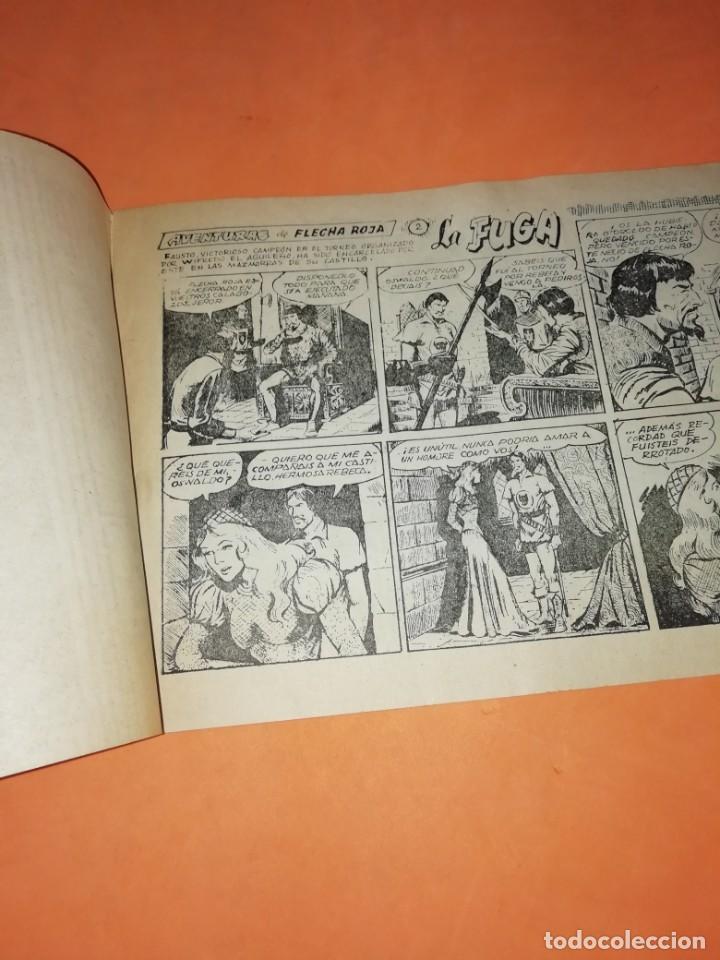 Tebeos: FLECHA Y ARTURO. Nº 2 LA FUGA. RICART. 1965. AVENTURAS DEL FBI. TERROR EN HOLLYWOOD. EDICOLOR 1958 - Foto 3 - 184336972