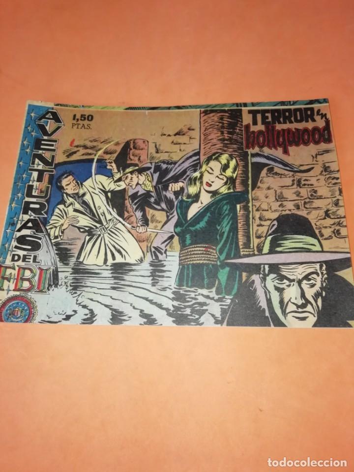 Tebeos: FLECHA Y ARTURO. Nº 2 LA FUGA. RICART. 1965. AVENTURAS DEL FBI. TERROR EN HOLLYWOOD. EDICOLOR 1958 - Foto 5 - 184336972