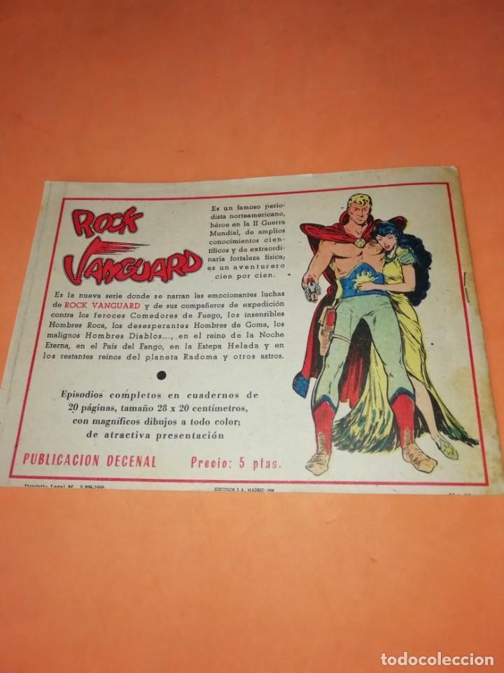 Tebeos: FLECHA Y ARTURO. Nº 2 LA FUGA. RICART. 1965. AVENTURAS DEL FBI. TERROR EN HOLLYWOOD. EDICOLOR 1958 - Foto 6 - 184336972