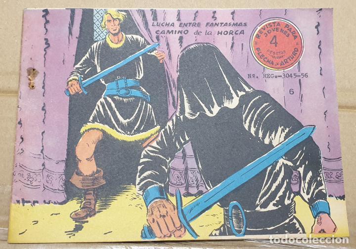 FLECHA Y ARTURO Nº 6 / RICART ORIGINAL DE 4 PESETAS (Tebeos y Comics - Ricart - Flecha y Arturo)