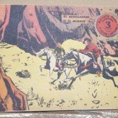 Tebeos: FLECHA Y ARTURO Nº 14 / RICART ORIGINAL DE 3 PESETAS. Lote 184550282