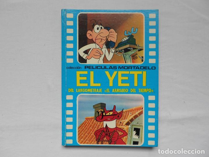 EL ARMARIO DEL TIEMPO Nº 3 EL YETI COLECCION PELICULAS MORTADELO AÑO 1973 (Tebeos y Comics - Ricart - Modelo)