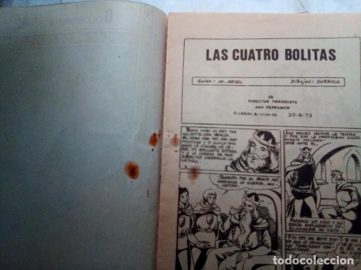 Tebeos: GOLONDRINA- Nº 238 -LAS CUATRO BOLITAS1973-GRAN MARÍA ARTAL-SANTIAGO SARROCA-ÚNICO EN TC-LEAN-2475 - Foto 6 - 185995856