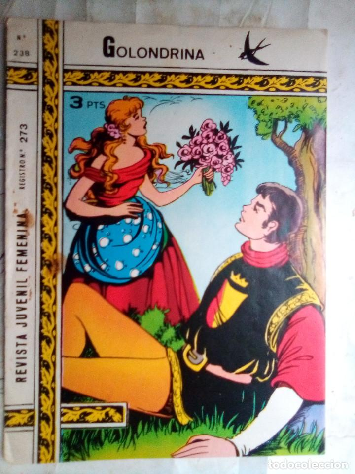 GOLONDRINA- Nº 238 -LAS CUATRO BOLITAS1973-GRAN MARÍA ARTAL-SANTIAGO SARROCA-ÚNICO EN TC-LEAN-2475 (Tebeos y Comics - Ricart - Golondrina)