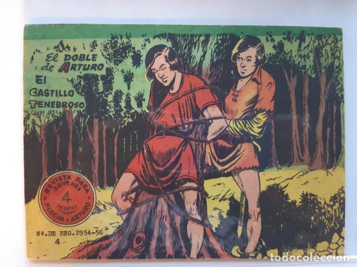 FLECHA Y ARTURO Nº 4 EXCELENTE ESTADO (Tebeos y Comics - Ricart - Flecha y Arturo)