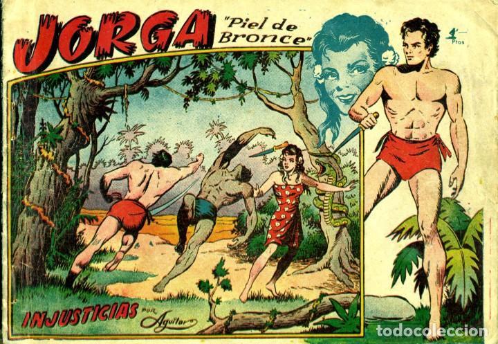 JORGA (RICART, 1954) DE FERRANDO. COMPLETA: 18 EJEMPLARES. EL Nº1 ES TOMO. (Tebeos y Comics - Ricart - Jorga)