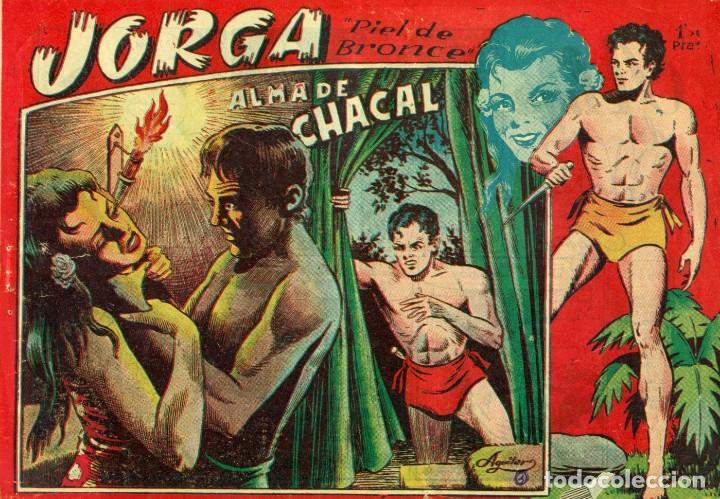 Tebeos: JORGA (RICART, 1954) DE FERRANDO. COMPLETA: 18 EJEMPLARES. EL Nº1 ES TOMO. - Foto 3 - 188629413