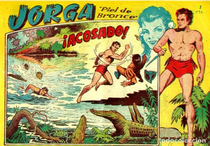 Tebeos: JORGA (RICART, 1954) DE FERRANDO. COMPLETA: 18 EJEMPLARES. EL Nº1 ES TOMO. - Foto 4 - 188629413