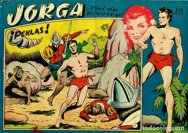 Tebeos: JORGA (RICART, 1954) DE FERRANDO. COMPLETA: 18 EJEMPLARES. EL Nº1 ES TOMO. - Foto 5 - 188629413